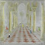 04 La danse du palais 120x120 pastel sur toile (2015)