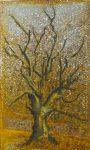 19 l arbre en hiver - pastel sur rouille - 33x22 (2016)