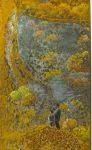 35 Pere et Fils - pastel sur rouille - 35x23 (2016)