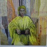 15-La-Femme-en-jaune-120x120-collage-et-pastel-sur-toile-2015