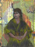 16-La-femme-en-vert-2014-pastel-sur-collage