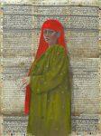 21-Le-foulard-rouge-130x100-2014-pastel-sur-papier-birman