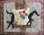 40-deux-acrobates-pastel-et-collage-2018